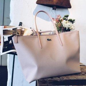 6折起 €59收托特包Lacoste官网 夏季大促 包包专场 超大容量托特包 各种颜色全