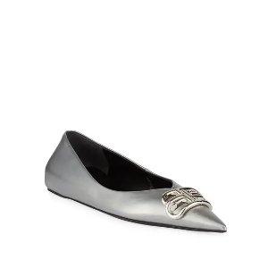 BalenciagaBB尖头鞋