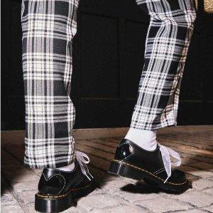 Dr Martens37/38/40码黑色+丝带款小皮鞋