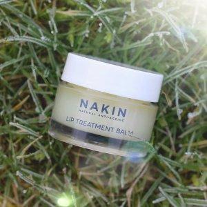 75折 £7.5收有机抗老修护唇膏Nakin 精选英国本土高端唇部产品热卖