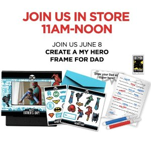 Free! Create A My Hero Frame For DadKids Zone @ JCPenney