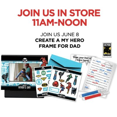 Free! Create A My Hero Frame For Dad