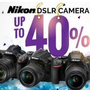 低至6折限时特惠:Nikon尼康 多款单反相机促销