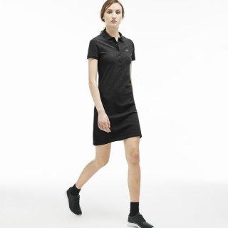 现价$76.99(原价$155)包邮Lacoste 法国鳄鱼经典Polo裙(2色可选)