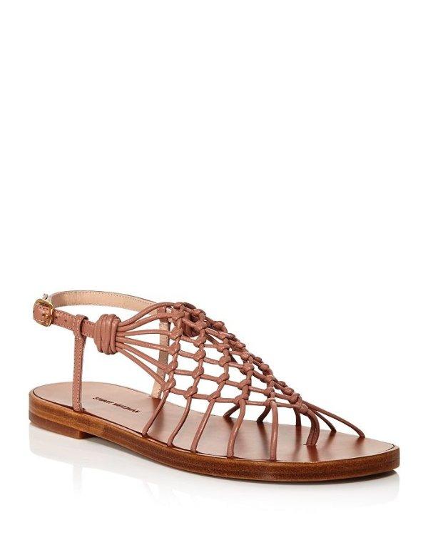 Seaside 平底凉鞋