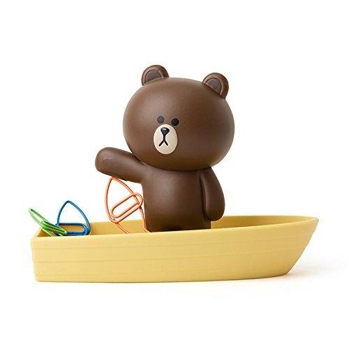 布朗熊 磁力别针盒