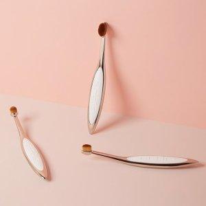 $64.8(原价$144)新人9折Artis Brush 高端刷具3件套 5折入化妆刷界的爱马仕