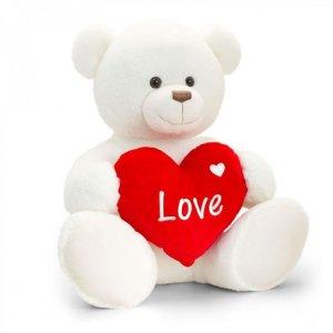 Keel Toys 白色亨利熊公仔 - 70cm
