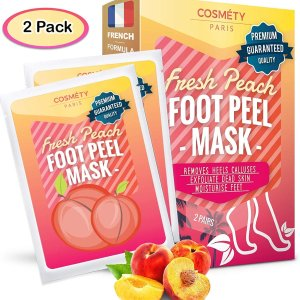 $13.4 Free ShippingCosméty Paris Foot Exfoliating Peeling Scrub Mask 2 Pack