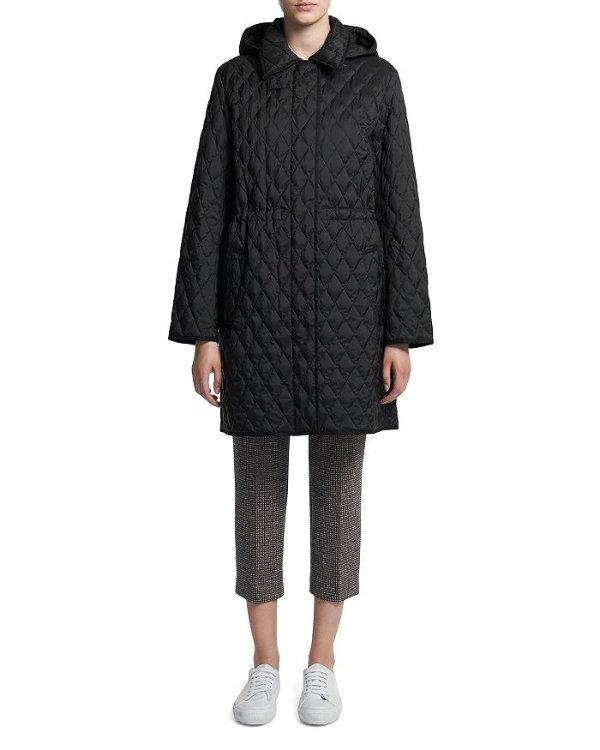 菱格绗缝外套