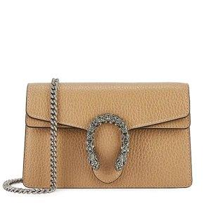 £635收罕见奶茶色酒神上新:Gucci 迷你包、小号腰带、老花围巾 酒神、Marmont超值收
