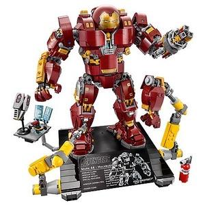 £119.99乐高新品 Hulkbuster 机甲钢铁侠Ultron版 76105