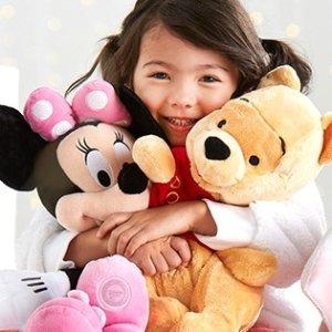 第二件只要$3 68cm超大玩偶也参加限今天:迪士尼官网 毛绒玩具热卖