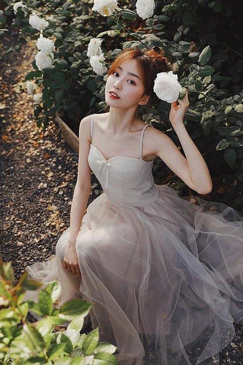 白色梦幻芭蕾舞裙