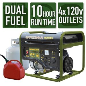 $269Sportsman Dual Fuel Powered Portable Generator