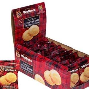 现价$11.85 仅$0.65/包Walkers 苏格兰黄油饼干 1.4盎司*18包
