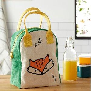 低至$9.9+满减Simons 超可爱有机棉午餐包+重复使用零食袋热卖 好看又环保