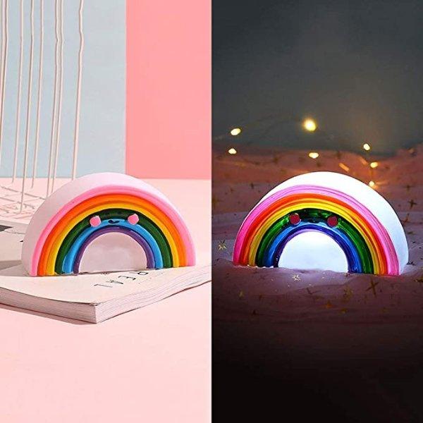 LED 彩虹夜灯