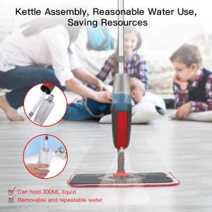 仅售€26.99Aiglam 蒸汽拖把 可加入地板清洁剂 一步到位 一遍光亮