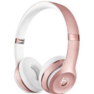5.3折 收封面玫瑰粉BEATS SOLO 3 无线蓝牙耳机热卖 多色可选