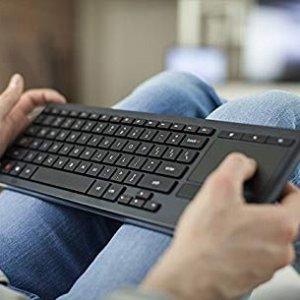 $49.99(原价$99.99)Logitech K830 无线背光键盘