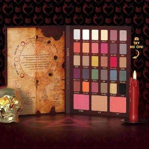 体验Sabrina的魔法世界NYX 莎宾娜的颤抖冒险电影合作限定眼影上新!打造魔法奇幻妆