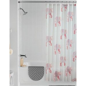 $5.99Mainstays Elephant Shower Curtain Set, 14 Piece