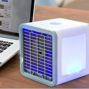 低至53折 清凉一夏桌用USB小风扇 吹走写论文时团聚在周围的小热气