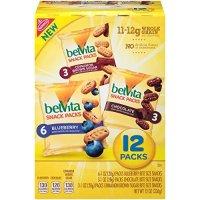 Belvita 迷你早餐饼干 蓝莓+肉桂+巧克力口味 48袋装