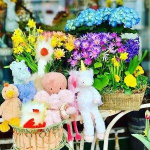 低至6折 £7起收邦尼兔Jellycat 玩偶超值热卖 小狗狗、小恐龙、七彩羊驼来啦~