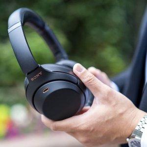 $399.99(原价$448)Sony WH1000XM3 无线降噪耳机 摆脱闹腾的孩子们