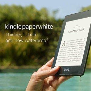 史低价!Kindle Paperwhite