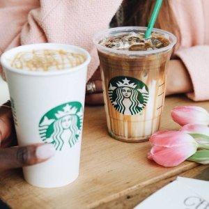Coming Soon: Buy 1 get 1 freeAny Starbucks Macchiato Drinks