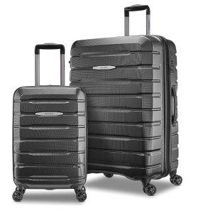 史低价:Samsonite Tech 2.0 万向轮硬壳行李箱2件套 20寸+27寸