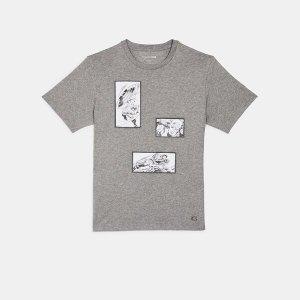 Coachx Marvel 美队漫画T恤