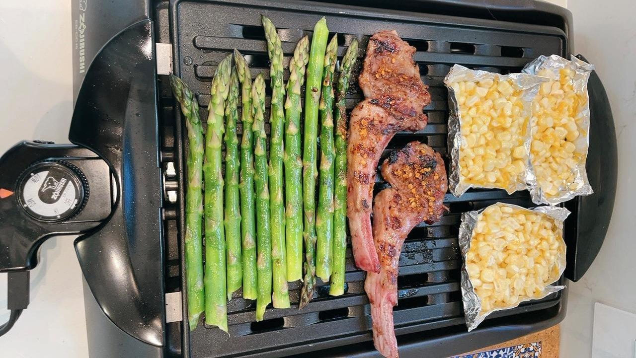 舌尖上的烧烤~ZOJIRUSHI象印家用室内不粘烧烤炉在家享受BBQ的乐趣