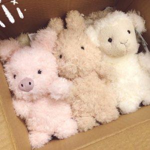 €17收小绵羊、小粉猪Jellycat 超萌小可爱闪亮登场 超多新款、断货款一应俱全