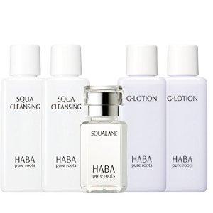 ¥135 收G露*2+美容油*1+卸妆油*2补货:HABA 角鲨烷超值体验5件套限定套装