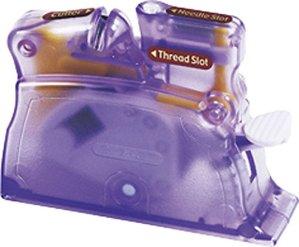$7Clover 4071 Desk Needle Threader, Purple