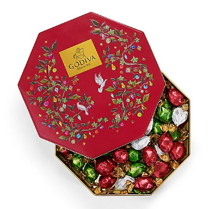 $26.22Godiva Holiday Tin Assorted Wrapped Truffles, 50 pc.