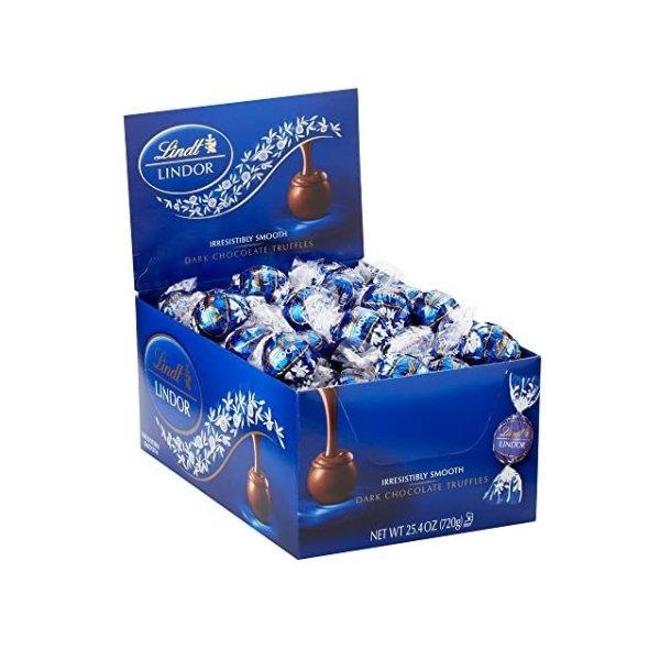 LINDOR  瑞士莲软心黑巧克力 60粒