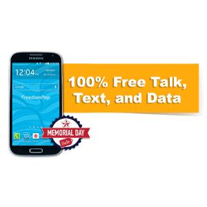 $49.99 包邮 首月2GB+送1GB流量翻新 Samsung Galaxy S4 + FreedomPop 100%免费套餐