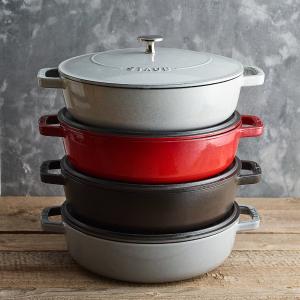 低至€81收 炒锅低至€29Staub 铸铁锅折扣场 焖住美味的神器 居家做大餐必备!