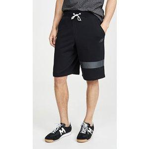 New BalanceReflective Logo休闲短裤