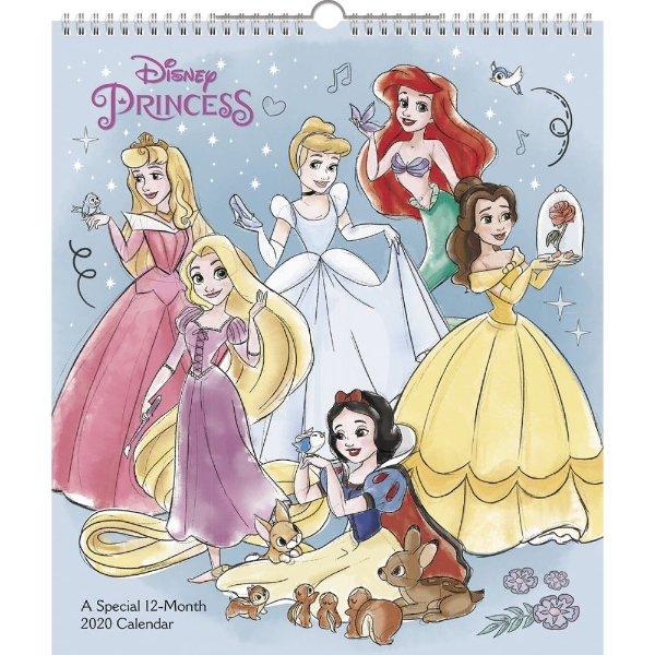 迪士尼公主2020台历