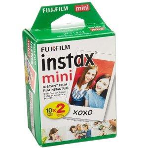 $18.99(原价$26.56)Fujifilm instax mini 相纸 (20张装)