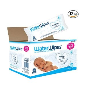 15% off + extra 5% offWaterWipes Sensitive Baby Wipes, 720 Count (12 Packs of 60 Count)