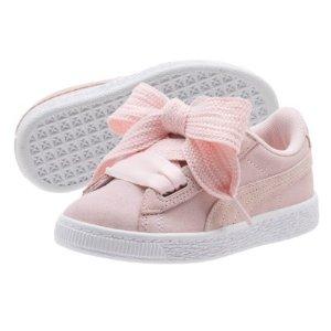 低至5.5折Puma 儿童鞋促销 俏皮蝴蝶结真可爱