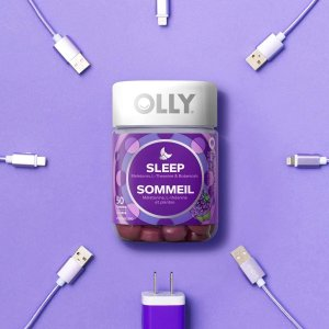 $17.56(原价$23.97)Olly 褪黑素软糖 黑莓果味无香精色素 维持健康睡眠周期