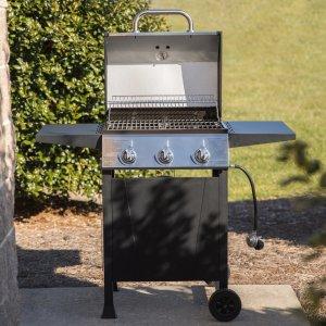 $99Blue Rhino 不锈钢户外燃气烧烤炉